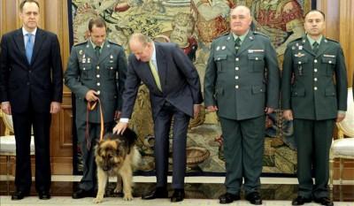 Ajax junto al rey de España